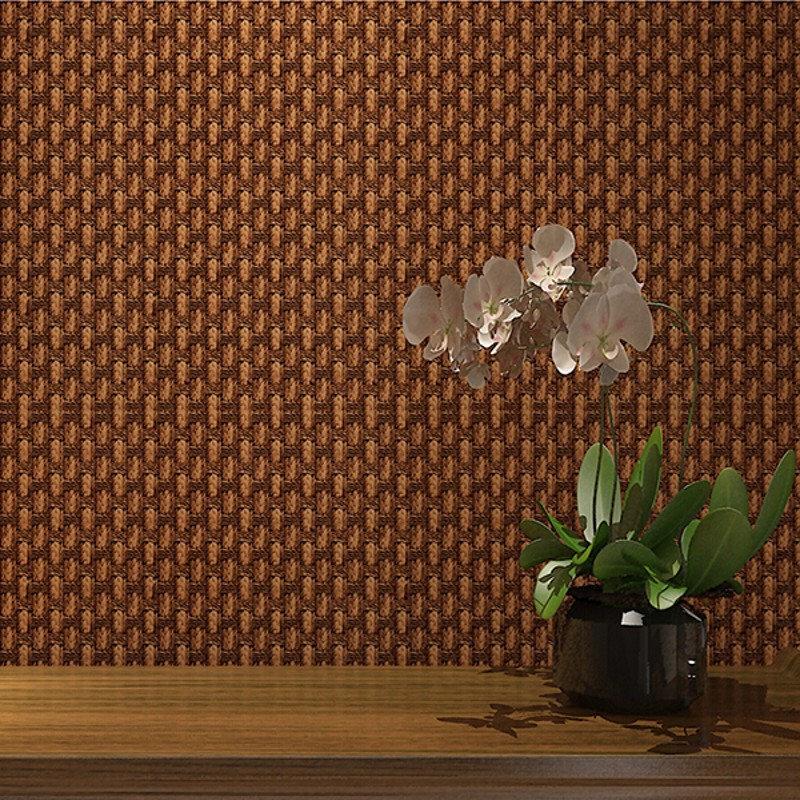 beibehang Linen straw Luxury Classic Wall Paper Home Decor Background Floral Wallcovering 3D velvet Wallpaper for Living Room<br>