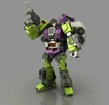 2017 new arrival Transformation figures toy KO GT Navvy of Devastator city model truck toy