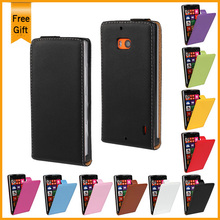 2014 New Luxury Genuine leather Magnetic Filp Case For Nokia Lumia 930 Mobile Phone Cover Black 11 Color +Gift