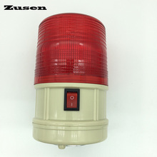 Zusen TB5088 new flash warning light Traffic Barrier Lights wit battery to power(China)