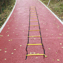 7m 13pcs Ladder for football soccer training speed Agility Ladder Fitness Feet Training Soccer training equipment