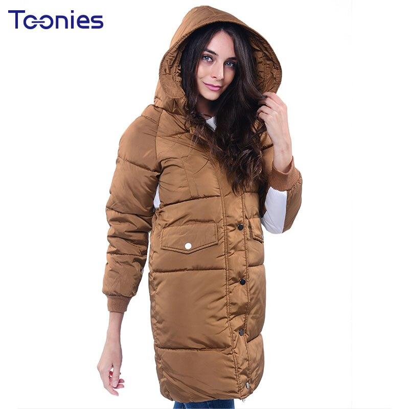 Women Manteau Femme Hiver Outerwear Abrigos Mujer Invierno 2017 Fashion New Warm Jacket Long Thick Winter Jacket Woman Plus SizeÎäåæäà è àêñåññóàðû<br><br>