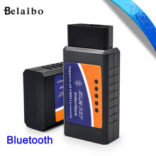Elm327 V1.5 Auto Diagnostic Scanner Tool obd2 Bluetooth/USB/WIFI OBDii Car Diagnostic Reader Scanner Scan Tool for iPhone iOS PC