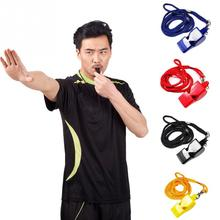 1Pcs Professional Plastic Soccer Football Basketball Hockey Baseball Sports Classic Referee Whistle 4 Colors(China)