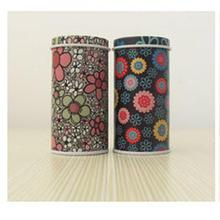 NAI YUE Hot Sale Metal Iron Cylindrical Candy Trinket Tin Jewelry Iron Tea Coin Storage Square Box Case