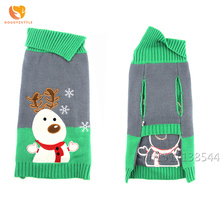 Dog clothes Christmas Snowman Pet Sweater Warm Pet Puppy Jumper Knitted Coat for Small Dogs Apparel Winter Clothing Chihuahua