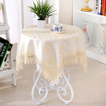 4 color 150*150cm Damask Fabric Tablecloth Refrigerator Towel Round Square Rectangle Tablecloths Multi-purpose Home Decor