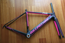 Rolling Stone ATTACK Full Carbon Fiber Frame Road Frame Climbing Frame Ultra-Light Carbon Frame 4 Color