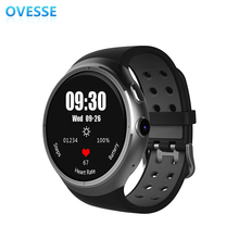 Dynamic Display Smart Watch Android 5.1 Wrist Phone MTK6580 1GB 16GB Heart Rate Monitor with the first one in the market(China)