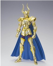 Special offer LC Capricorn Shura action figure Saint Seiya Myth Cloth Gold Ex pvc assembly toy model kit