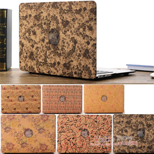 30pcs For Macbook Retina 12 Wooden Skin Wood Decal Sticker Ultra Thin Shell Eco-friendly Top Cover for Apple Mac Retina A1534