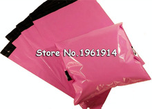 100pcs Light Pink Color Envelope mailing bag Courier Mailer Express Bag 150*200mm 250*350mm