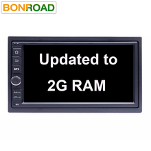 "7"" 2Din Android 6.01 Car Tap PC Tablet Universal Car DVD for Nissan GPS Navigation BT Radio Stereo Audio Player 2G RAM (No DVD)"