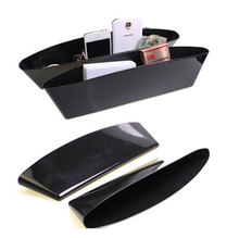 2PCS Daewoo Lanos Lacetti Nubira Matiz Kalos Car Seat Cushion Leakproof Slot Storage Box Car Styling Car interior supplies
