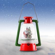 LED Christmas snow Lamp Portable Lamp Lighting Novelty Gift Christmas for store window scene decorate creative angel Christmas