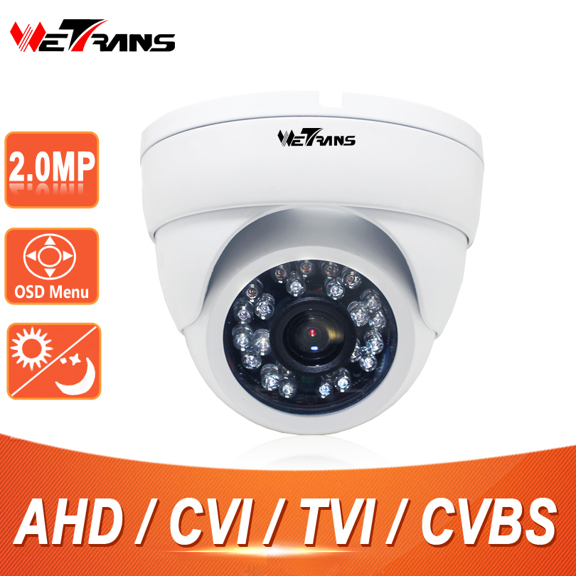 CCTV 2MP Dome Camera SONY CMOS Sensor 2.0Megapixel Full HD 20m Night Vision 3.6mm Lens CCTV HD AHD CVI TVI Dome Camera 1080P<br>