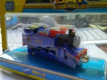 RARE METAL child boy gift Diecast THOMAS and friend The Tank Engine take along train- BELLE NIB