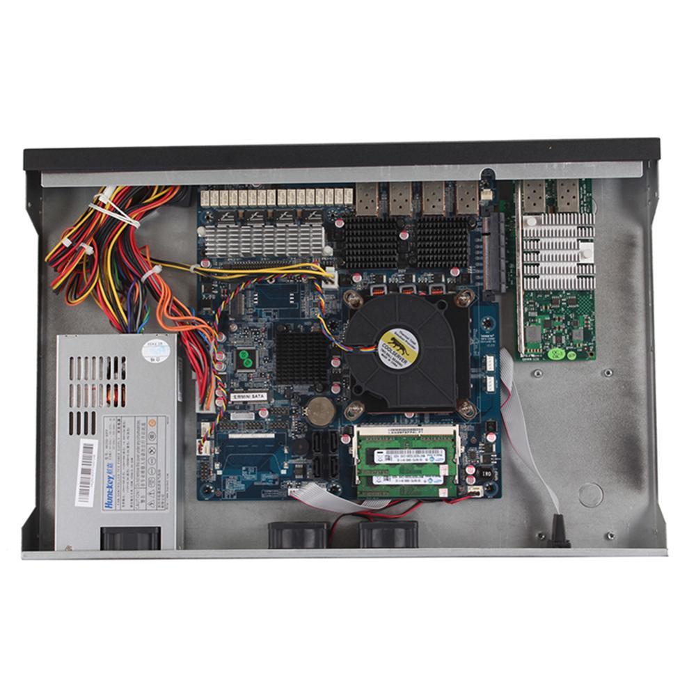 Firewall Mikrotik Pfsense Router PC I3 4160 I5 4430 I7 4770 G3250 HUNSN RS19 (20)