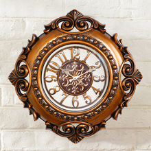 24 inch European Wall Clock Classic Wall Decoration Mute Clock Digital Reloj Silent ELectronic Watch Wall saat Wall Clocks