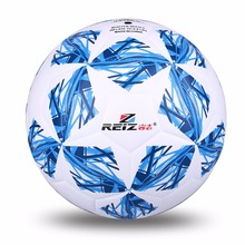 2017 Quality Official Size 5 Standard PU Soccer Ball Training Football Balls Training ball With Gift Net Needle 3 Colors(China)