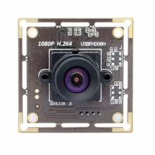 No distortion lens H.264 1080p industrial professional USB 2.0 Camera Module. Webcam For Raspberry pi With Sony imx322 Sensor(China)