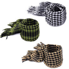 Hot New Military Arab Tactical Desert Scarf Army Shemagh KeffIyeh Shawl Scarve Neck Wrap(China)