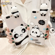 Buy KISSCASE 3D Cartoon Patterned Cases iPhone 6 6s Lovely Panda Soft Silicone Case iPhone 7 6 6s Plus 7 Mobile Phone Cover for $2.99 in AliExpress store