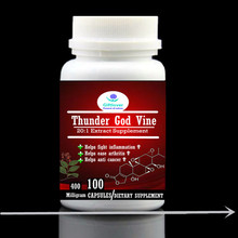 Thunder God Vine Extract supplement, help fight inflammation,ease arthritis and anti cancer,100pieces/bottle,dietary supplement(China)