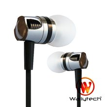 Wallytech 100PC X In-Ear earphone Noise Cancelling Earphones Stereo Earbud Flat Cable, Crystal Clear Sound WEA-109(China)