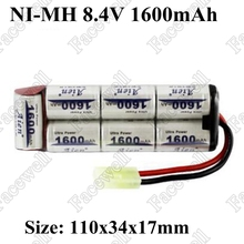 8.4V Battery Pack 1600mAh ni mh Battery Rechargeable Battery For Bicycle Headlights/CCTV/Camera/Electric toy/Remote Control Toys