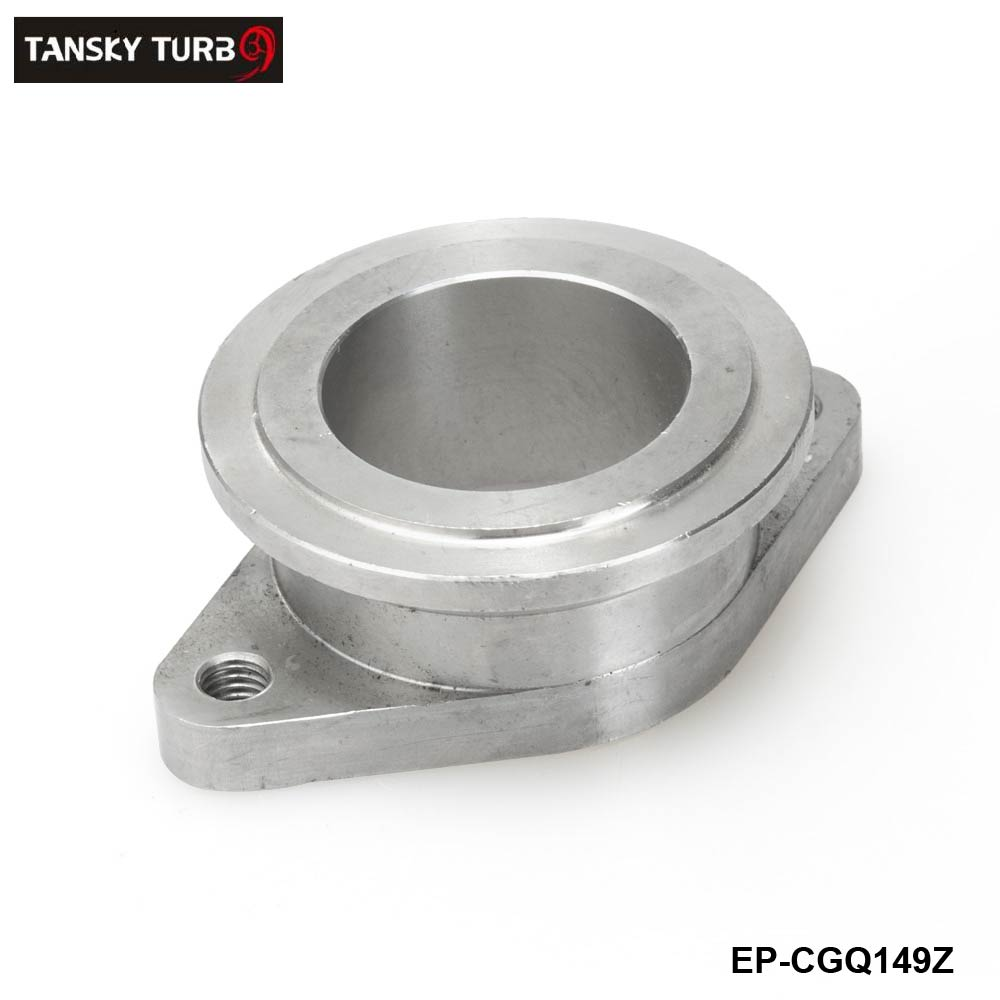 TANSKY -Stainless steel 38mm to 44mm Vband MV-R Wastegate Flange Adapter: Fits Universal EP-CGQ149Z