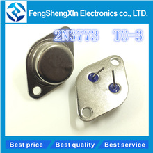 10pcs/lot NEW 2N3773 TO-3 16A/160V/150W Power transistor(China)