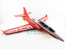 HSD RC Jet 90MM EDF Viper PNP Plane Model 6S 100A ESC With Brake Motor(China)