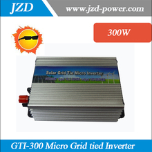 Free shipping!!300W On-grid Solar Power Inverter with Pure Sine wave DC 12V AC 220V grid tie inverter