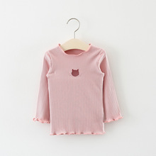 Lifebook 2018 Spring Girls Shirts Long Sleeves Little Kids Clothing Children Lovely All Matched Baby Girl T Shirts Discount New(China)
