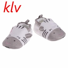 2017 Fashion New Super Soft Faux Leather Star Pattern New Born Infant Baby Boys Girls Prewalkers Autumn Winter Crib Shoes(China)