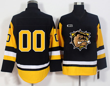 Hamilton Bulldogs # Custom your name and number Stitched Hockey Jersey