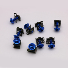 Buy 10PCS/Set M6 6mm Motorcycle M6 6mm Fairing Bolts Spire Speed Fastener Clips Screw Spring Bolots Nuts Motocicleta Scooters for $3.00 in AliExpress store