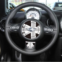 SHDLIFE Car Styling Steering Wheel Sticker For BMW Mini Cooper One R53 R55 R56 R57 R58 R59 R60 R50 R52 Clubman JWC Countryman(China)