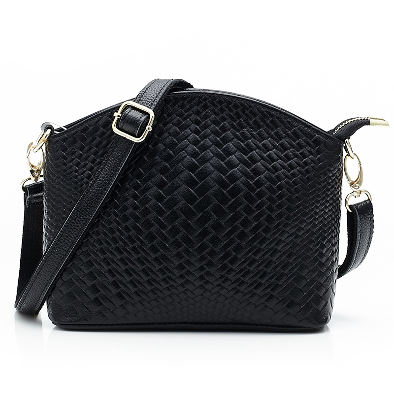 2016 Vintage Small Knitting Flap Crossbody Bag Women Shoulder Bag Genuine Leather Messenger Shoulder Bags Female Bolsos Mujer<br>