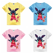 Kids Clothes 2017 Summer New Arrival Baby Boys Girls Cartoon T Shirts China Low Price Children Tees Clothing