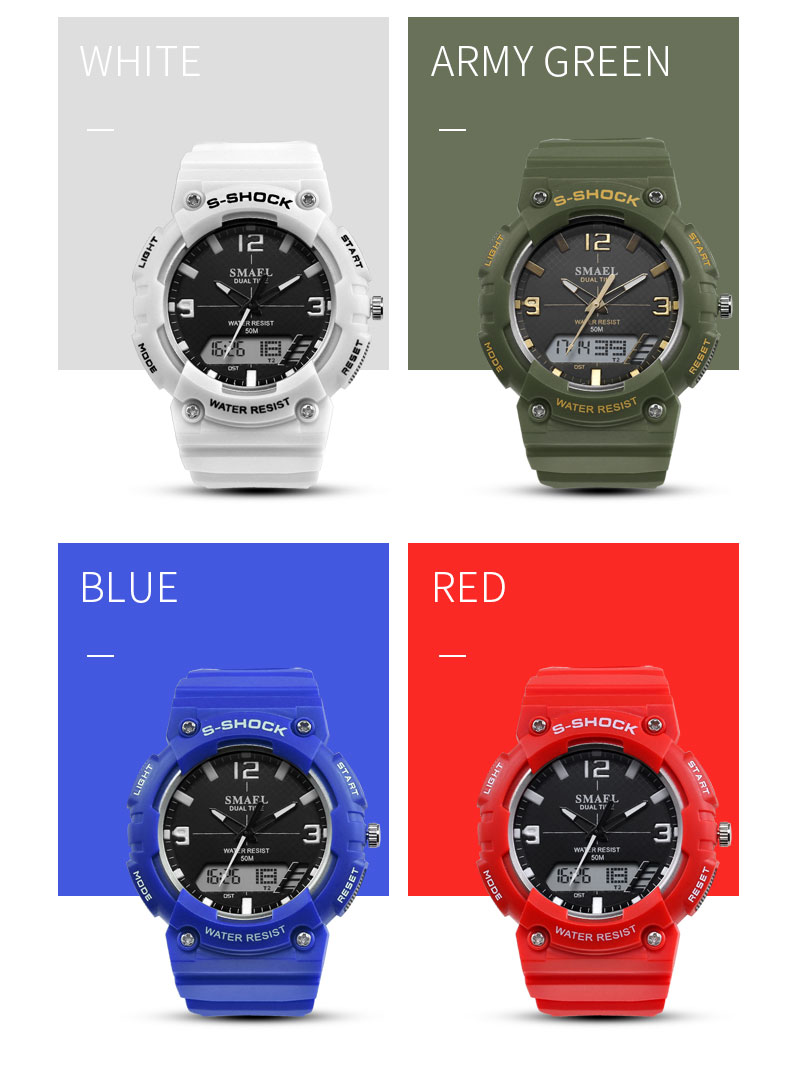 8.white watch sport