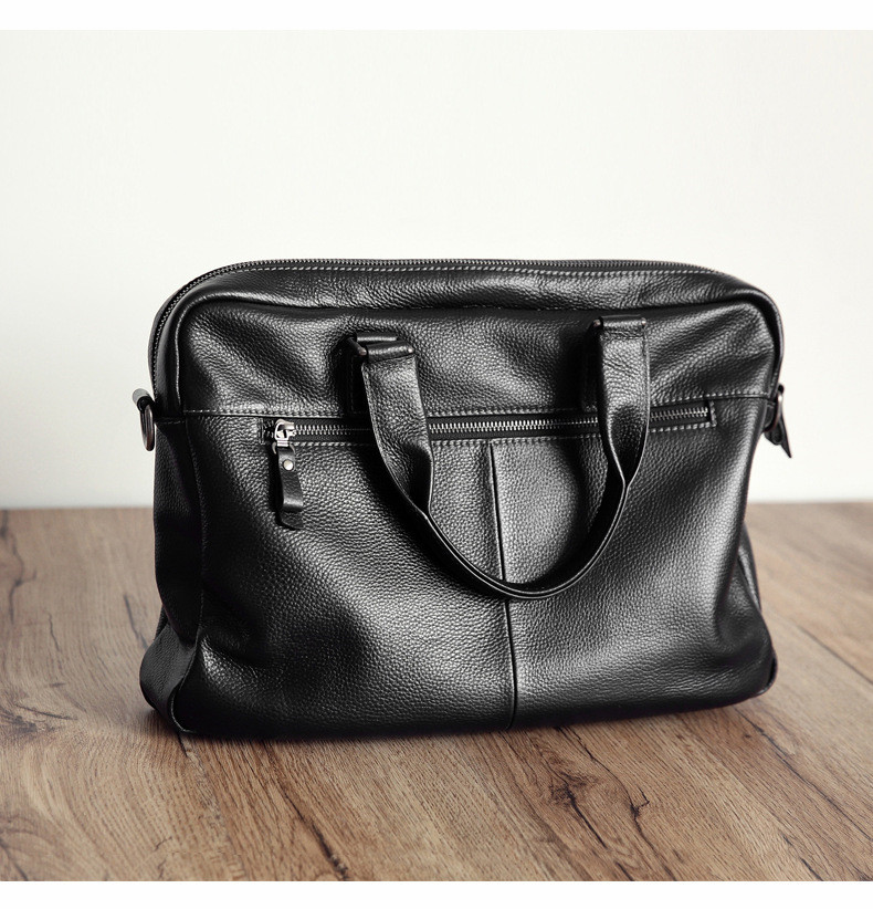 genuine leather briefcase (2)