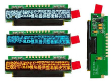 1.82 inch 8PIN SPI White/Blue/Red OLED Display Screen Module SSD1326 Drive IC 256*32(China)