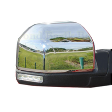 1 Pair For FORD F150 2015 Triple ABS Chrome Rearview Mirror Shell Cover Side View Protection Cap(China)