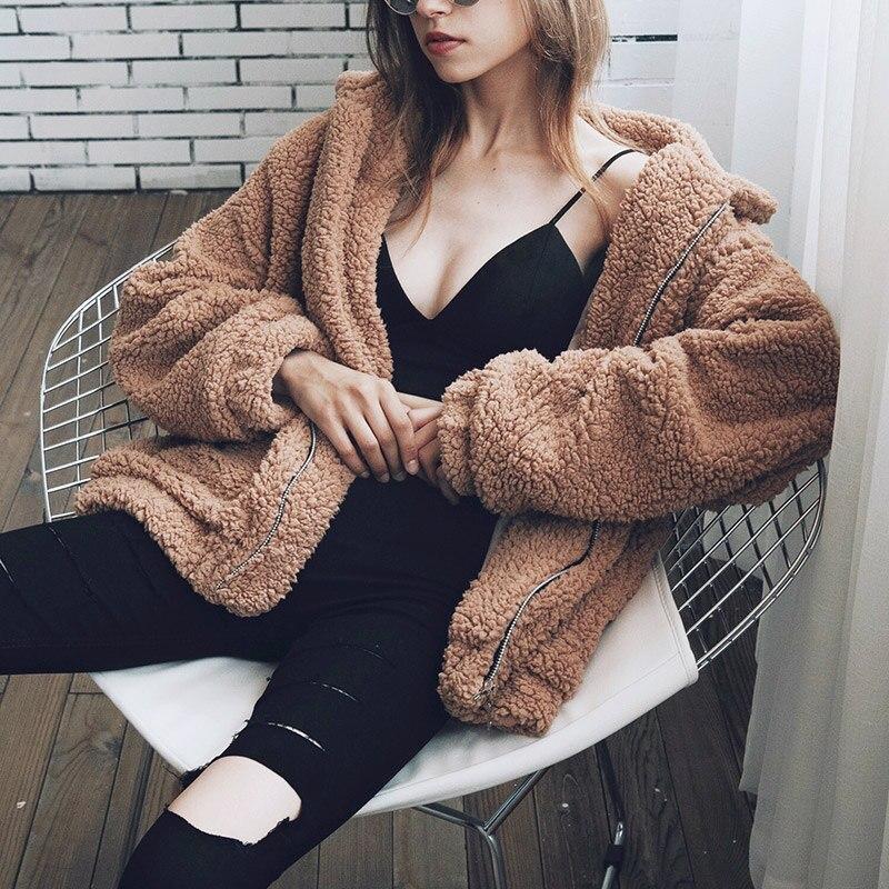 Plus Size Outwear for Pregnant Women Winter Coat Female  Newest Fashion Design Womens Long Sleeve Loose Streetwear Parka<br>