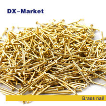 1.5*20mm , 750pcs ,  brass nail DIY hardware accessories common nail , high quality anti rust nails