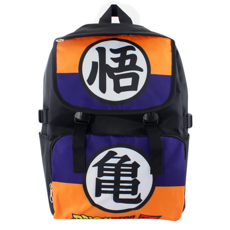 Japanese Anime Dragon Ball Nylon Waterproof Laptop Backpack/Double-Shoulder Bag/School Bag<br><br>Aliexpress