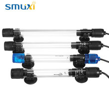Smuxi Submersible UV Light Sterilizer Ultraviolet Lamp 5W 7W 9W 11W for Aquarium Disinfect Fish Tank Disinfect Lighting 220-240V