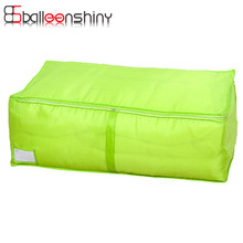 BalleenShiny Portable Organizer Polyester Clothing Pouch Holder Quilt Pouch Storage Tools Clothes Storage Bag Home Accessory(China)